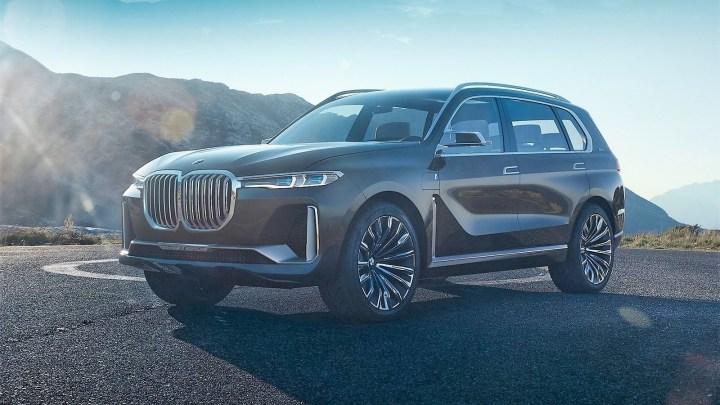 BMW X7 iPerformance Concept 2017: présentation à Francfort