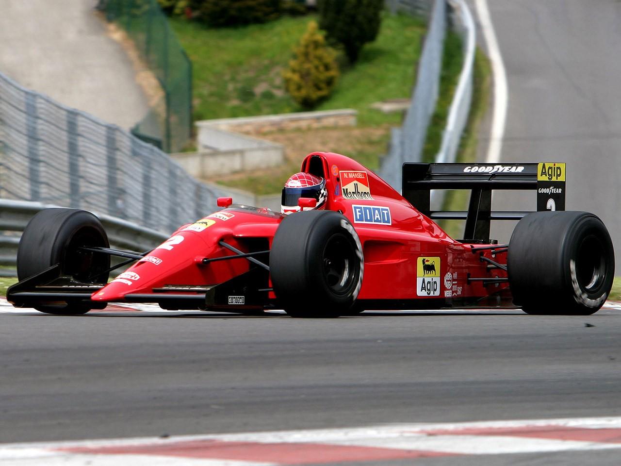 Ferrari 641 V12 F1 1990
