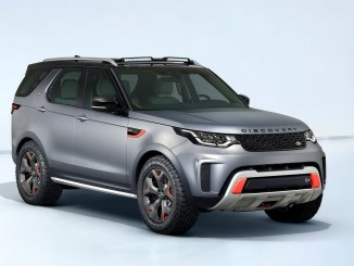 Land Rover Discovery SVX 2018