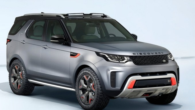 land rover discovery svx 2018 a t d voil au salon de francfort. Black Bedroom Furniture Sets. Home Design Ideas