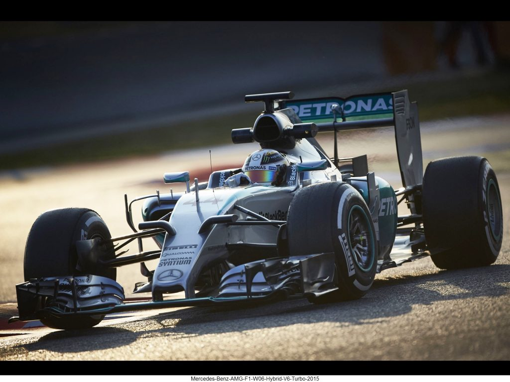 Mercedes Benz AMG F1 W06 Hybrid V6 Turbo 2015