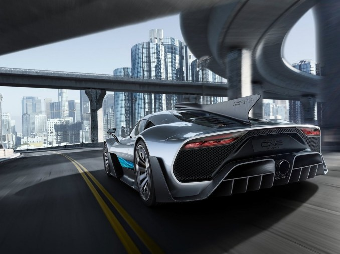 Mercedes AMG Project ONE Concept 2017