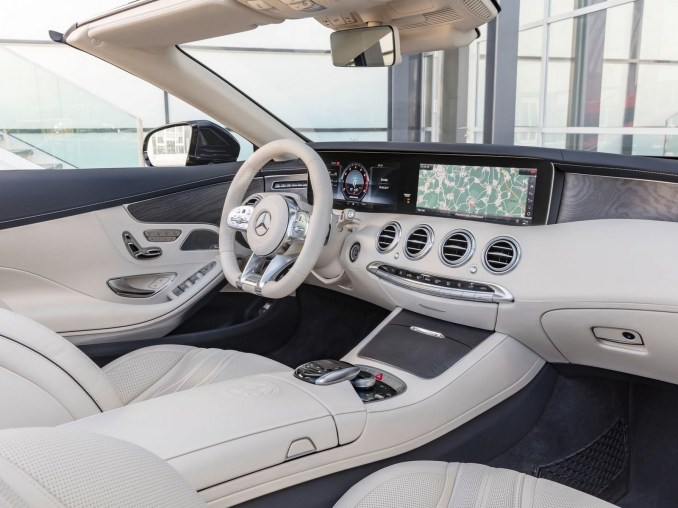 Mercedes S65 AMG Cabriolet 2018
