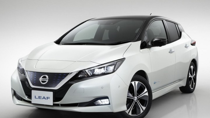 Nissan Leaf 2018: Une voiture avec la technologie 100% électrique.
