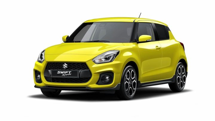 Suzuki Swift Sport 2018 : Plus de puissance et est plus légère