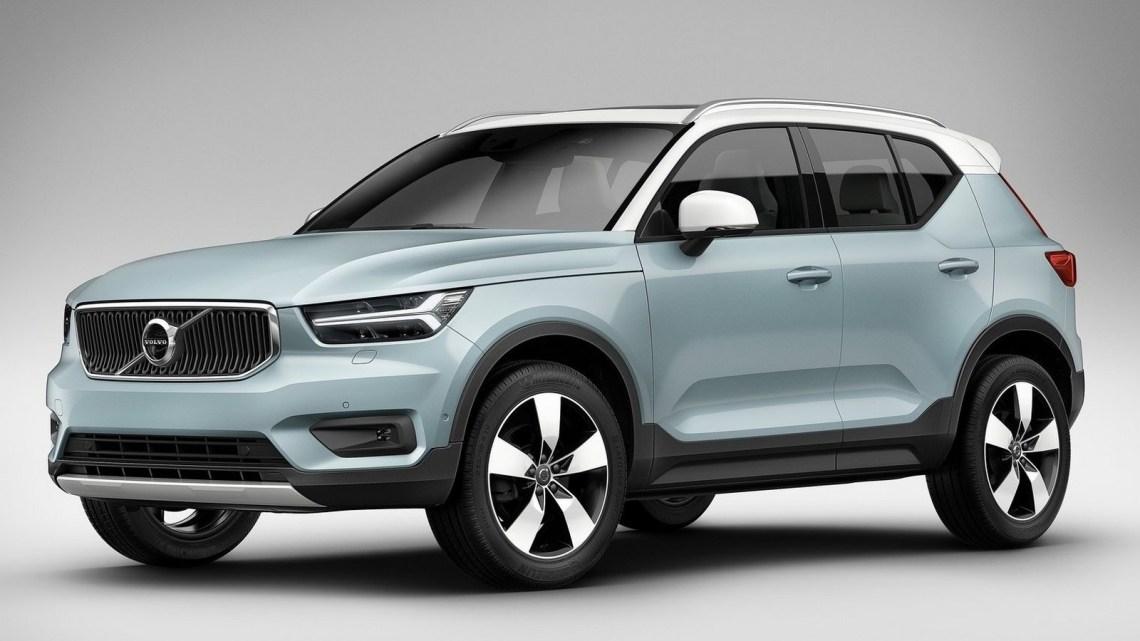 Volvo XC40 2018 – Modèle basé sur la nouvelle plate-forme CMA
