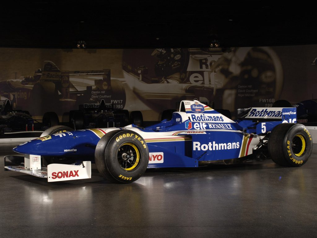 Williams Renault V10 FW18 1996