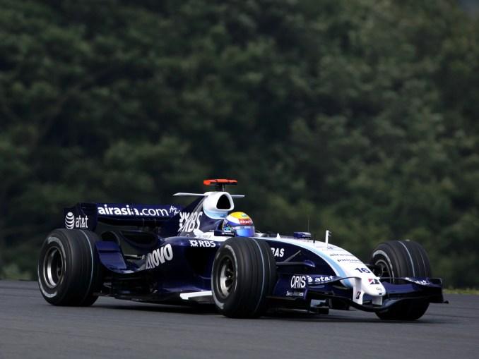 Williams Toyota V8 FW29 2007