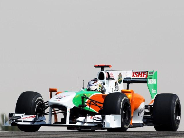Force India Mercedes V8 vjm03 2010