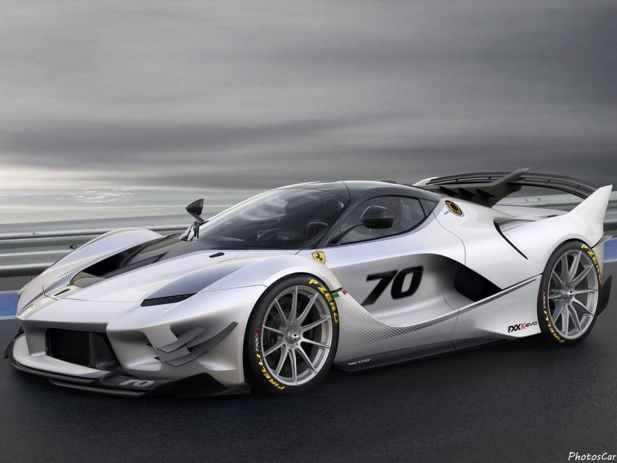 Ferrari FXX-K Evo 2018 : La puissance grimpe à 1 050 ch