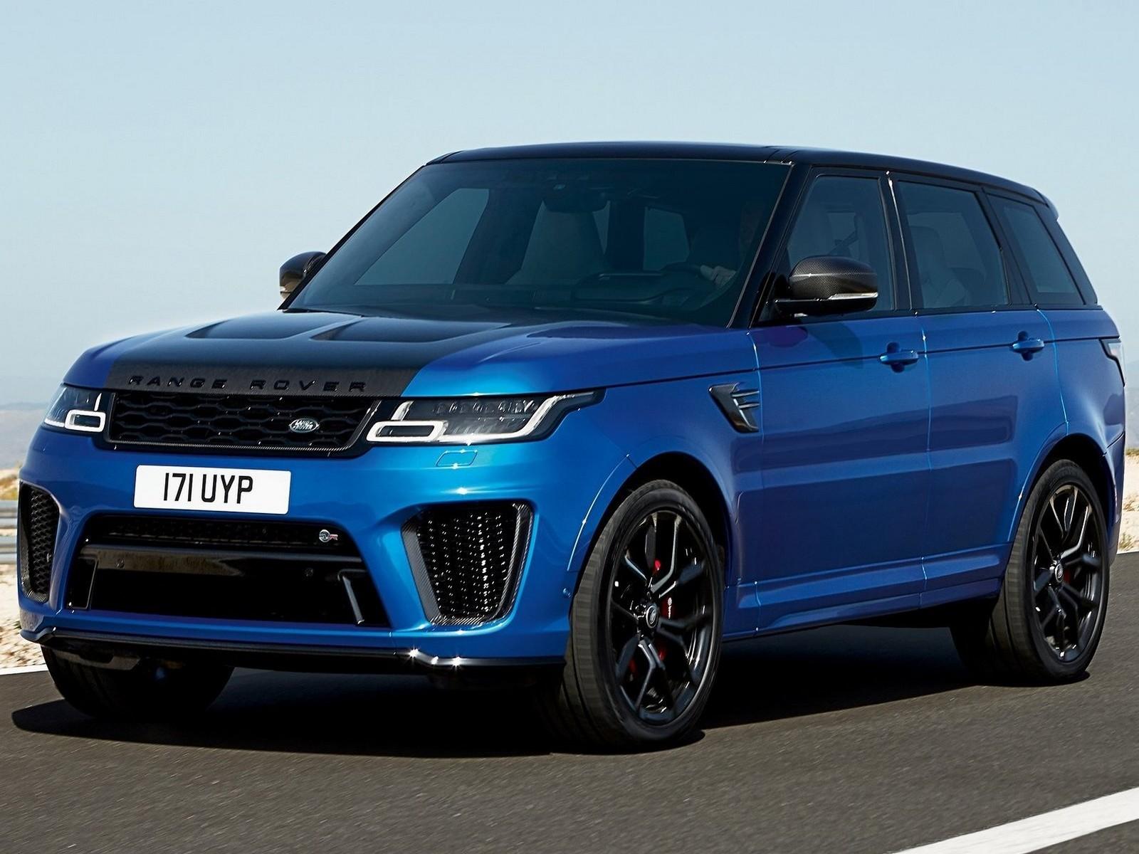 Land-Rover Range-Rover Sport SVR 2018
