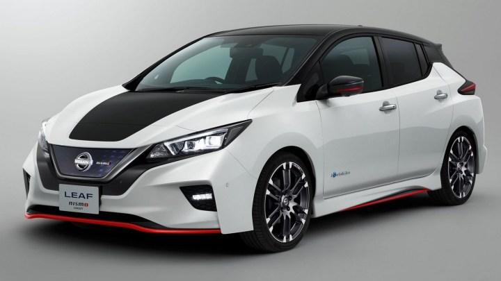 Nissan Leaf Nismo Concept 2017 – Électrique mais aussi sportive.