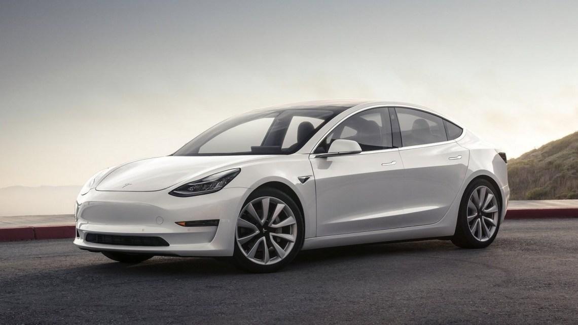 Tesla Model 3 2018 – Une berline à propulsion électrique