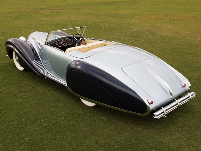 1946 Talbot Lago T26 Record Figoni and Falaschi Cabriolet