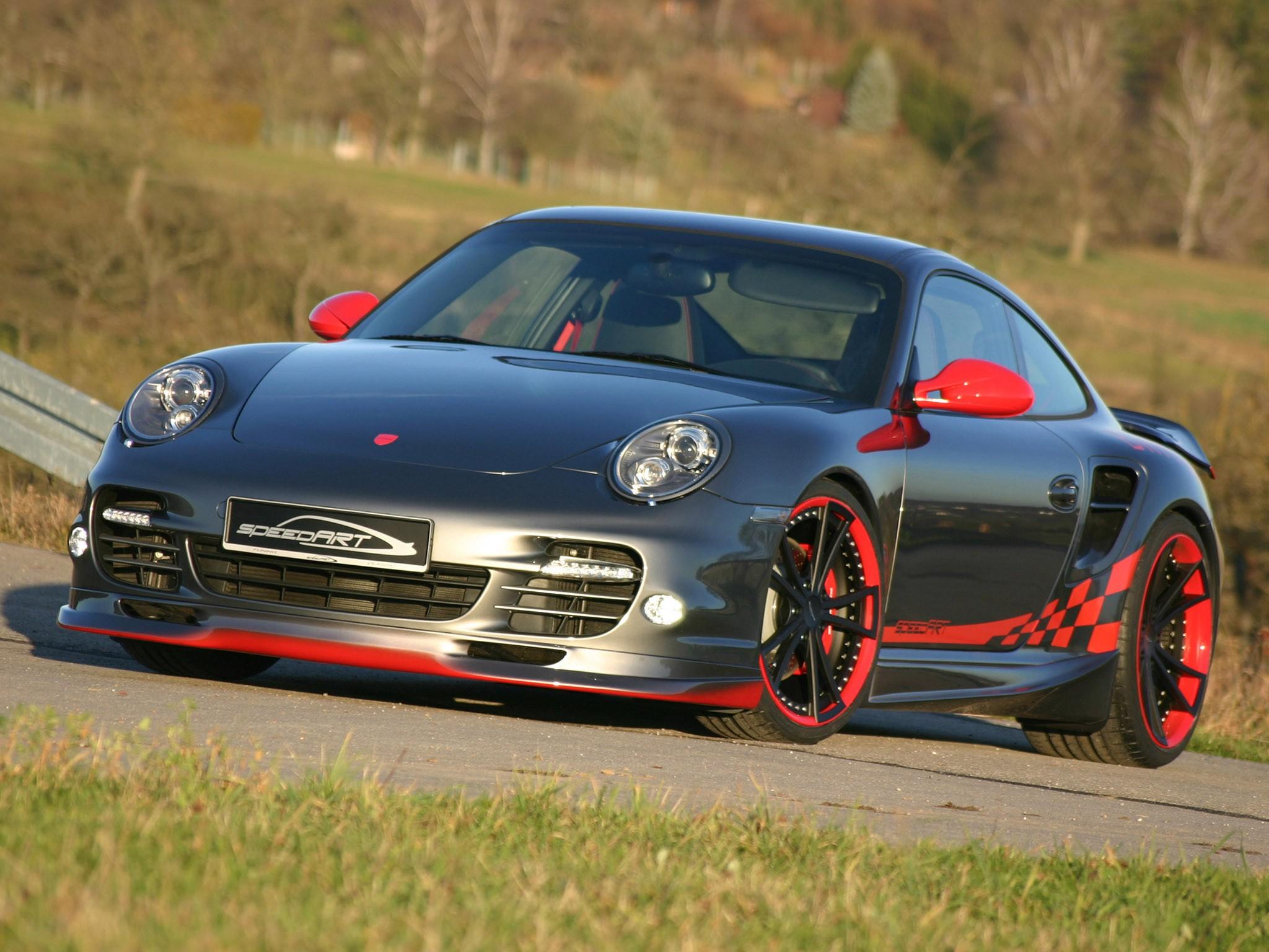 2009 Speedart Porsche 911 BTR2 580