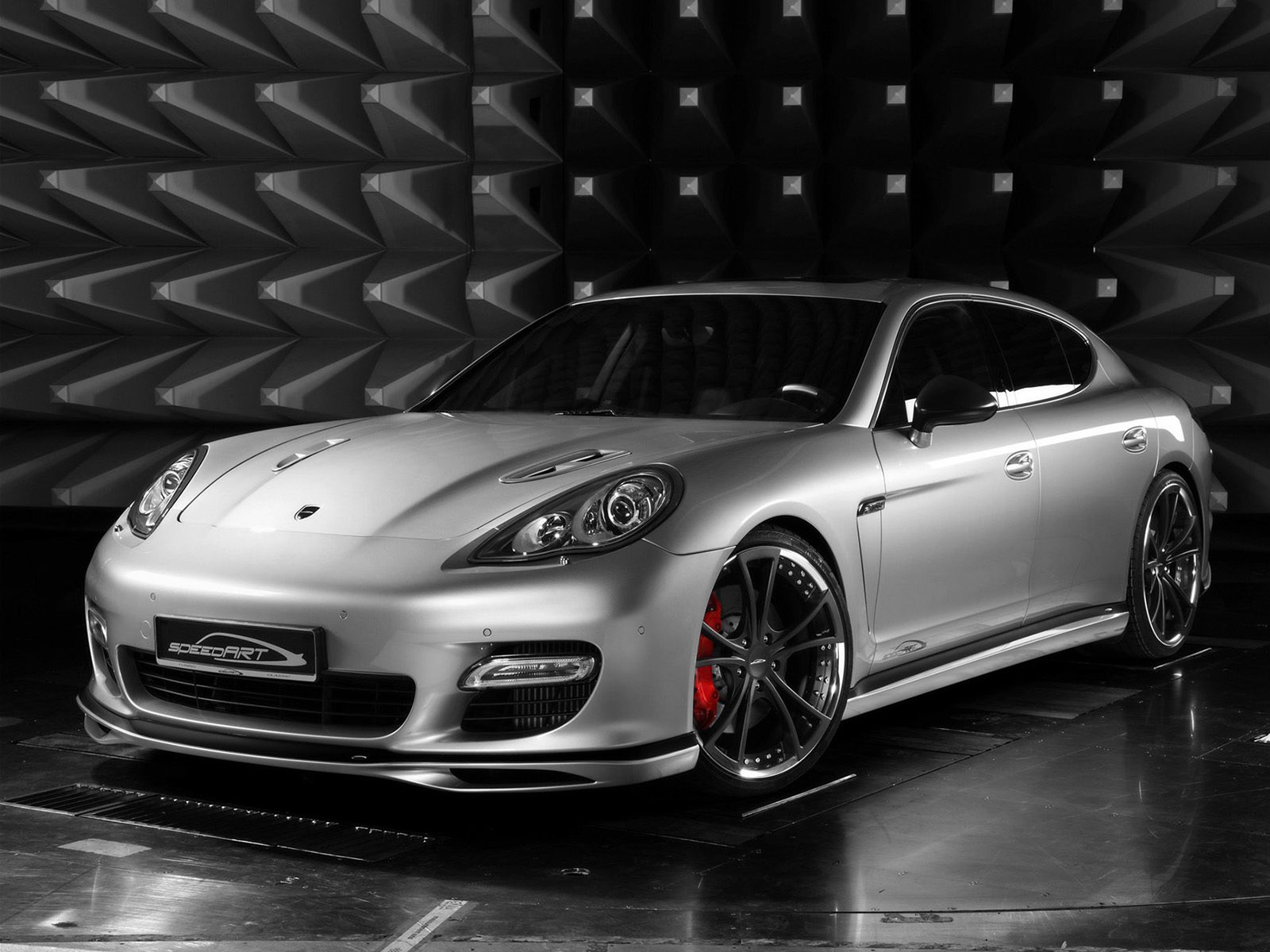 2009 Speedart Porsche Panamera PS9 650