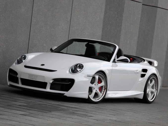 2010 Techart Porsche 911 Cabrio Turbo Aerokit II