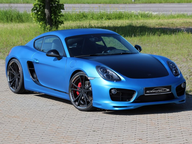 2013 Speedart Porsche Cayman SP81-CR 981c