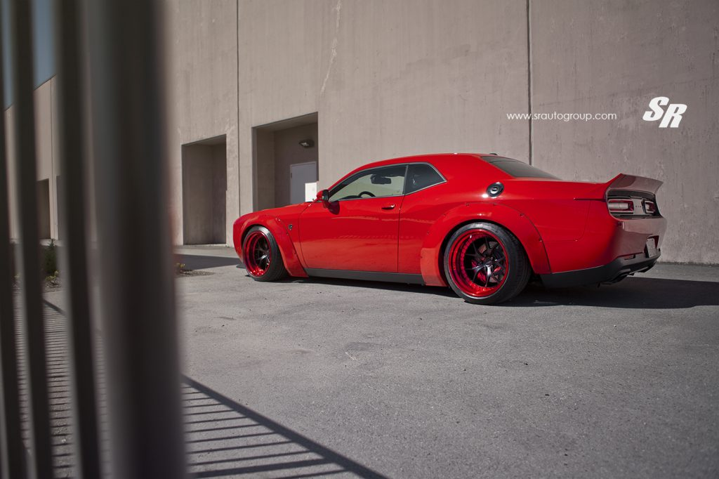 Dodge Challenger Hellcat - Liberty Walk - SR Auto 2016