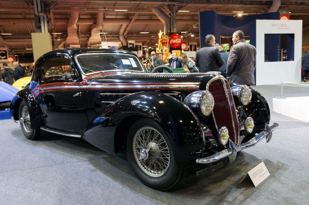2017 Retromobile - Delahaye 135 M coupe sport Chapron 1938