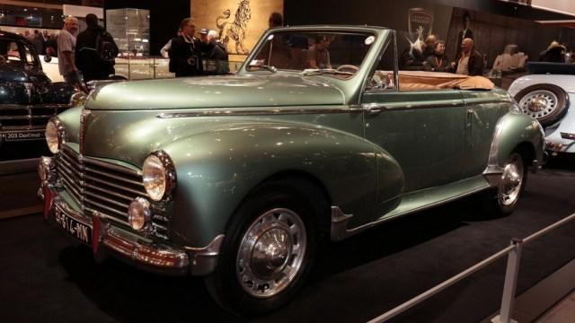 2017 Retromobile - Peugeot 203 Cabriolet 1952