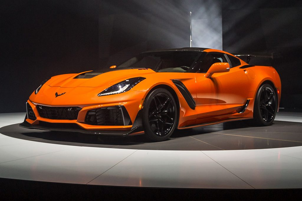 Chevrolet Corvette ZR1 2019 Sebring Orange
