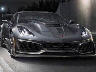 Chevrolet Corvette ZR1 2019 front