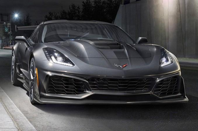 Chevrolet Corvette ZR1 2019 front