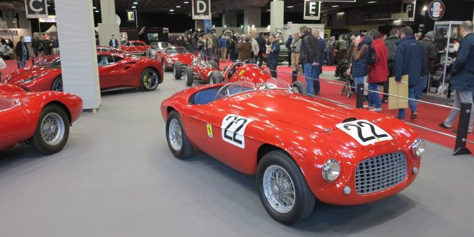 Retromobile 2017 - Ferrari 166 MM