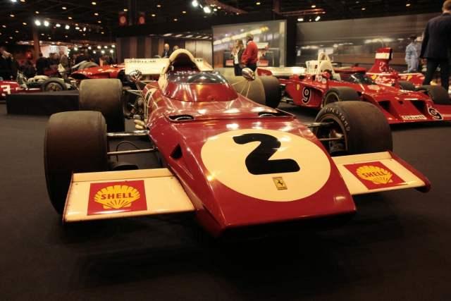 Ferrari F1 312 B2 de 1970