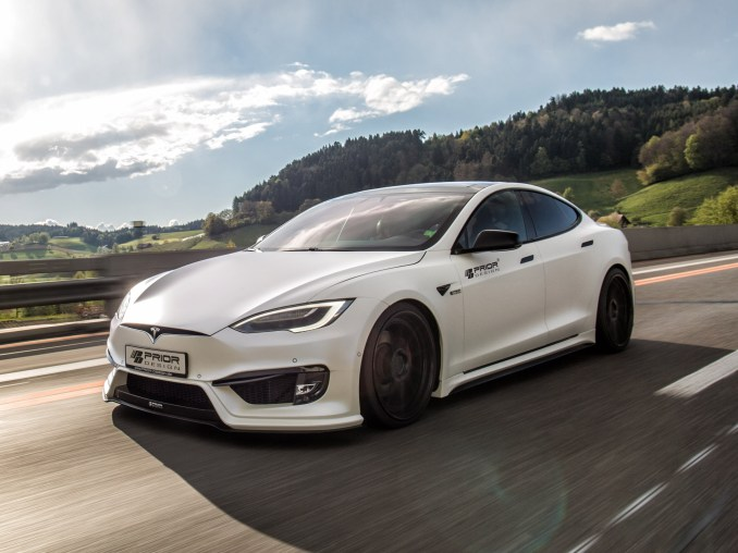 Tesla Model S P100D 2017 - Prior Design