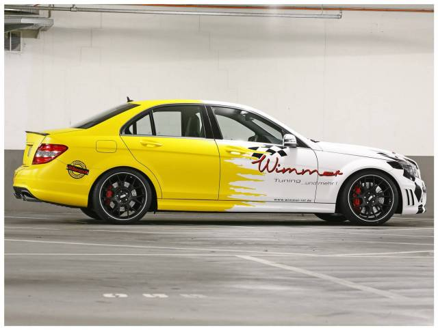 2011 Wimmer-RS - AMG Mercedes C63 W204