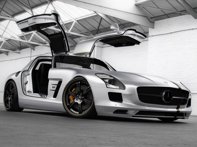 2012 Wheelsandmore Mercedes SLS AMG Silver Wing