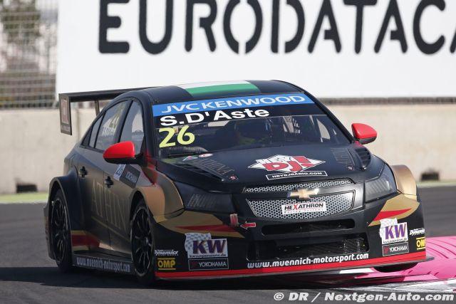 2015 Wtcc - Marrakech - Stefano Aste - Chevrolet Cruze