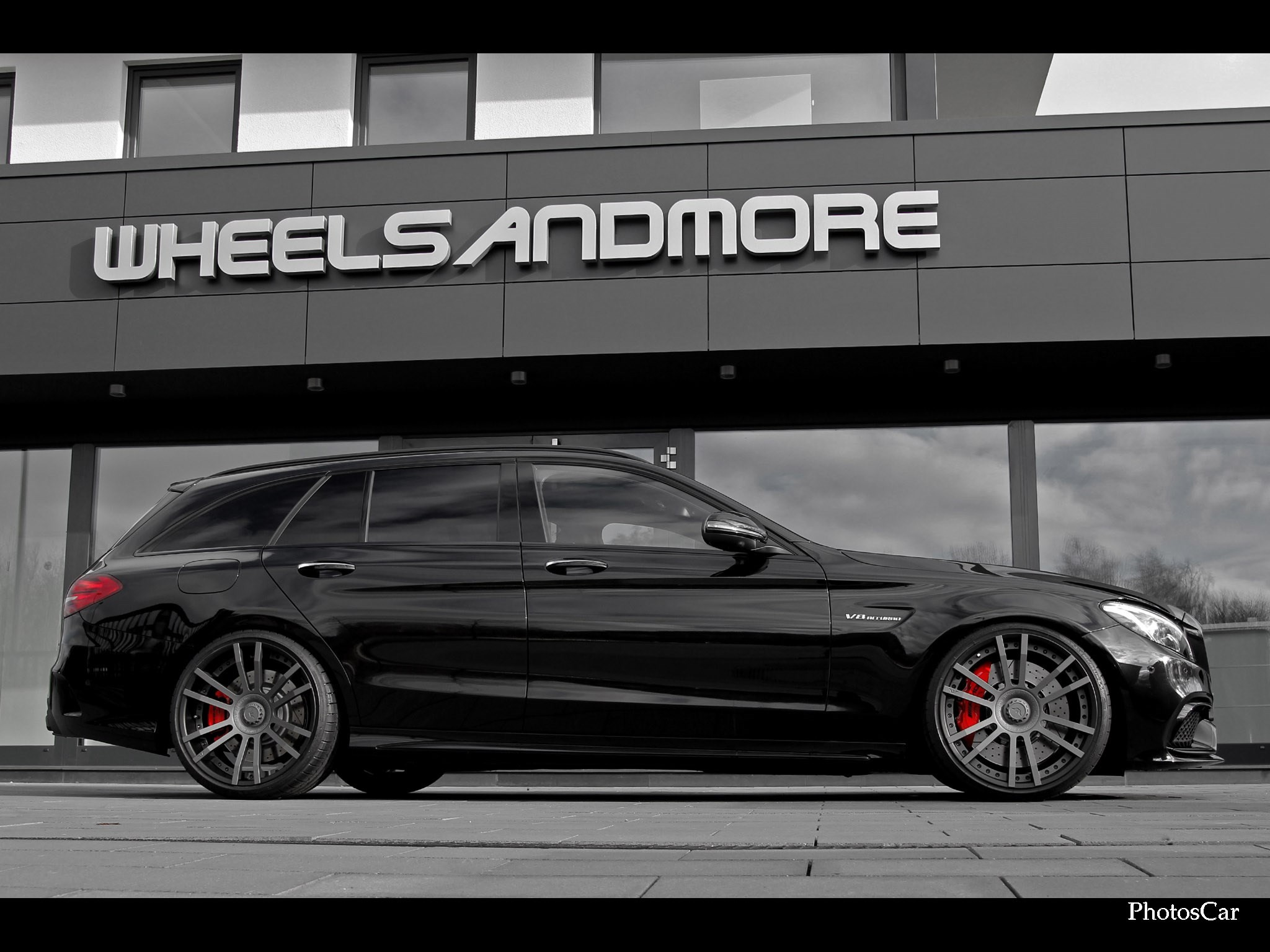 2016 Wheelsandmore - AMG Mercedes C63 Estate Star Track 6.8 S205
