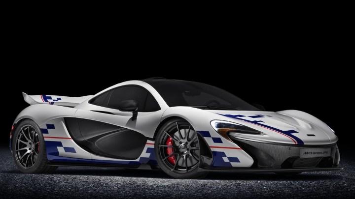 Cette McLaren P1 Prost est l'hommage de MSO à Alain Prost