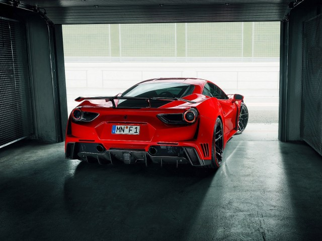 Ferrari 488 GTB N-Largo 2017 Novitec Rosso