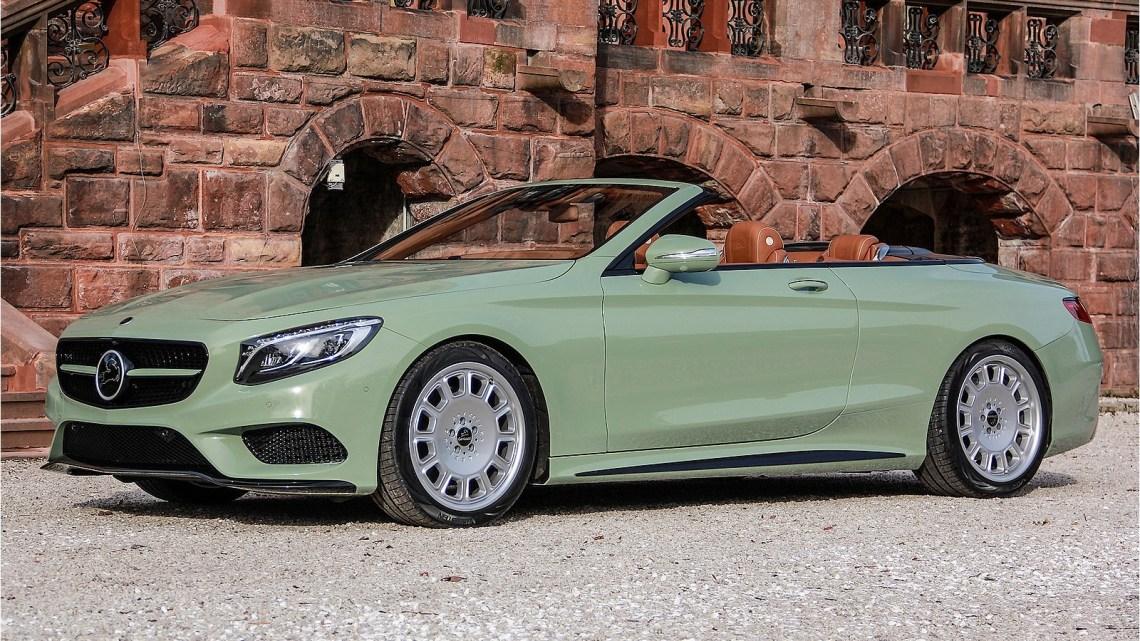 La Carlsson Diospyros – Une Mercedes Classe S Cabriolet très spéciale
