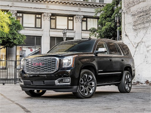 GMC Yukon Denali Ultimate Black 2018