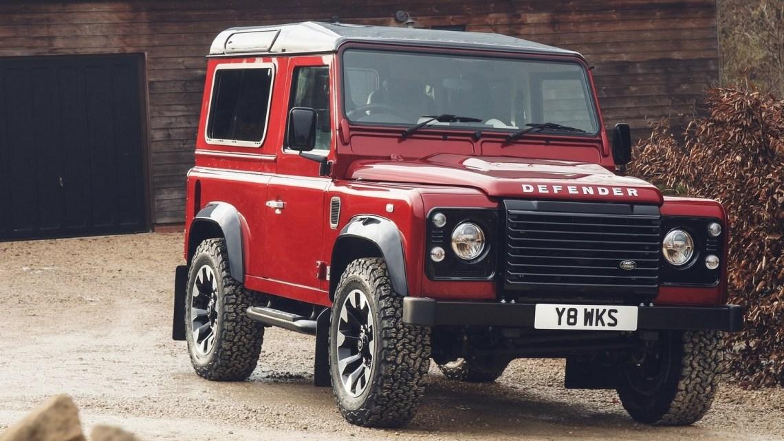 Land Rover Defender Works V8 2018 pour fêter son 70e anniversaire
