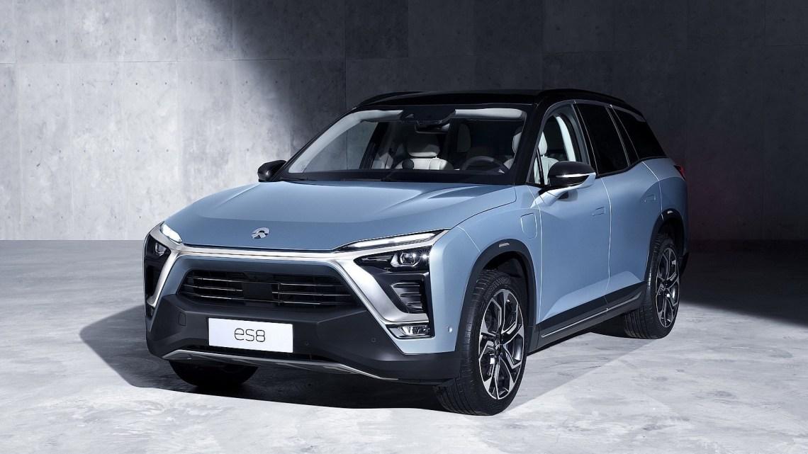 NIO ES8 2018: Le SUV électrique Chinois avec batterie amovible