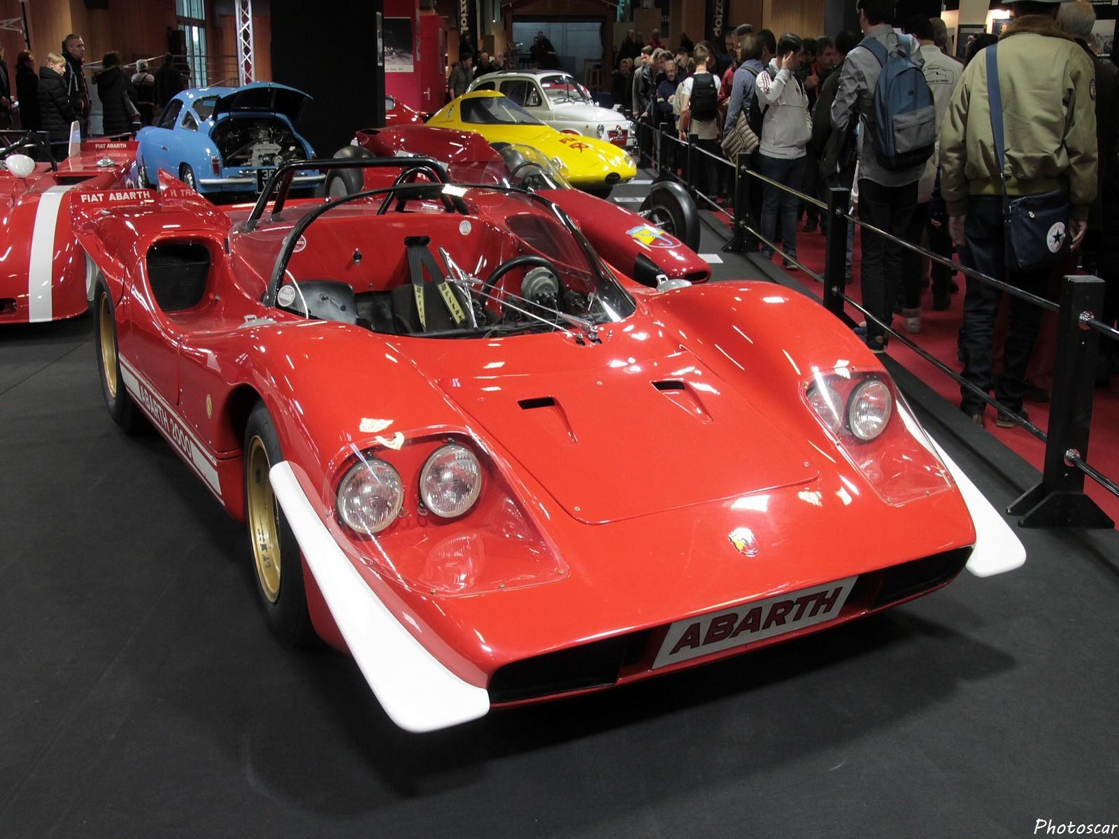 Abarth 2000 Sport 4 Fari 1968