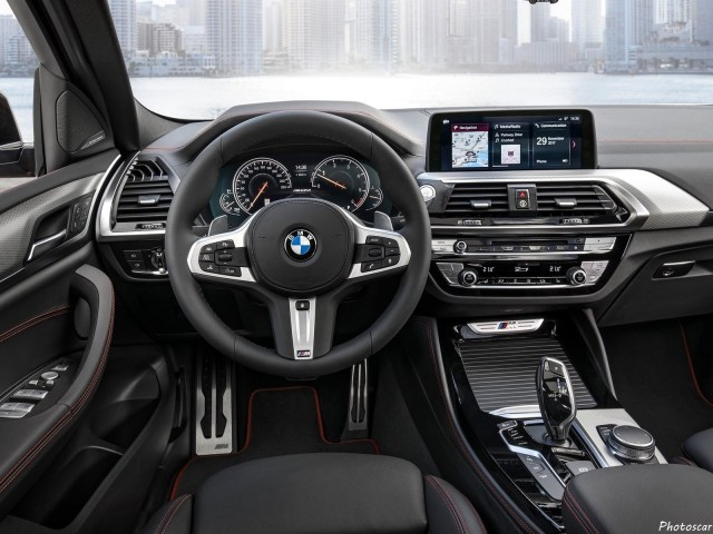 BMW X4 M40D 2019 intérieur