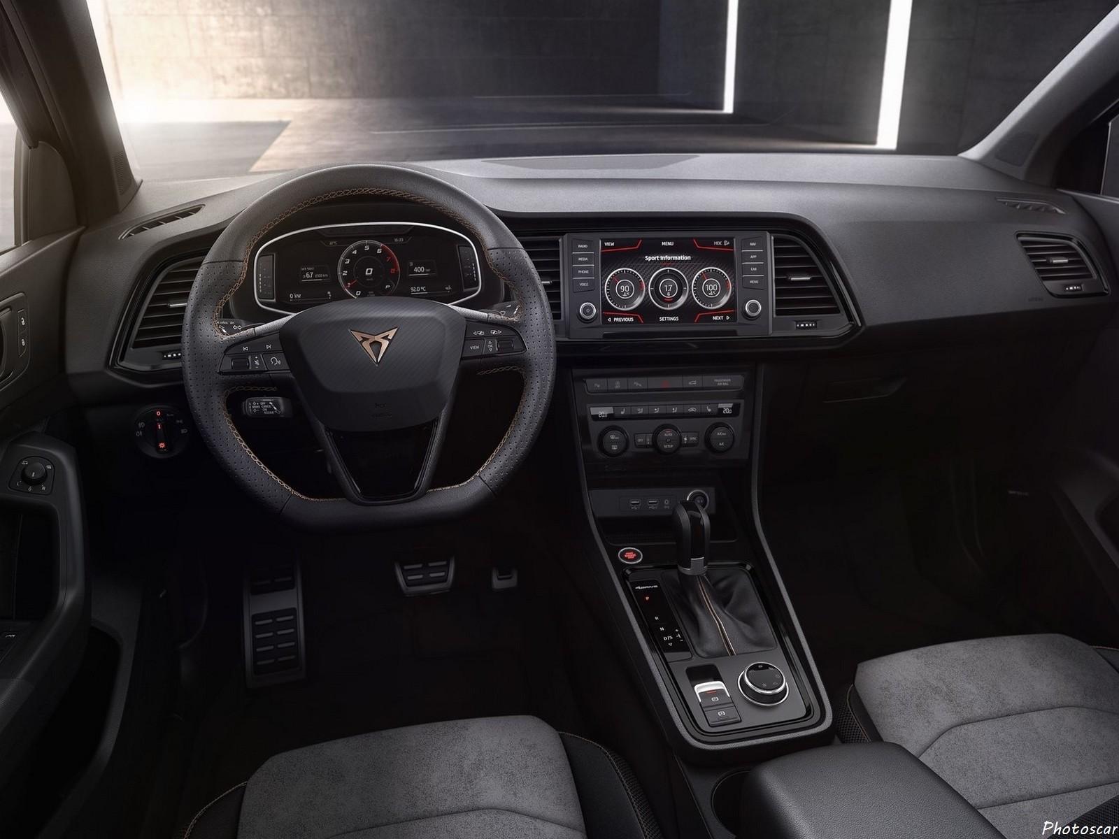 Cupra Ateca 2019 - Le méchant SUV de 300 ch