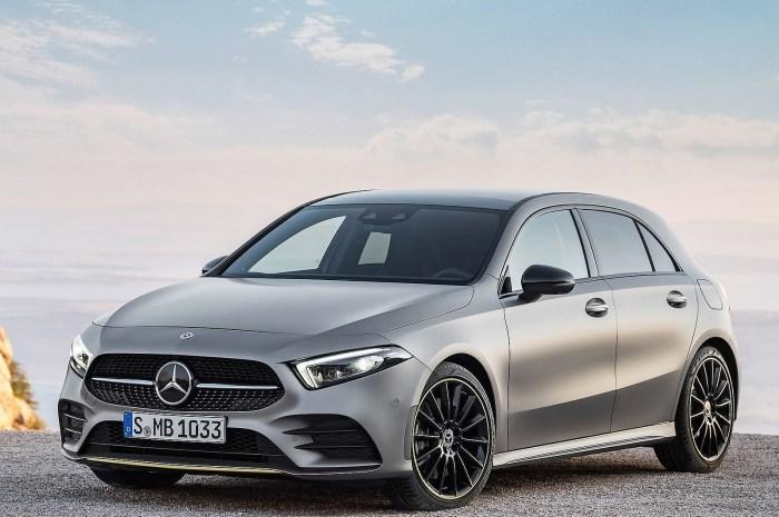 Mercedes Classe A 2019 – Reconfiguré comme un compact