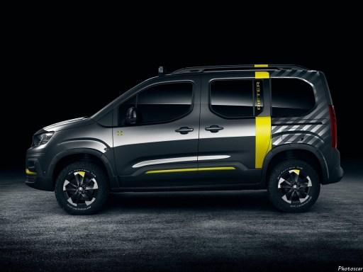 Peugeot Rifter 4x4 Concept 2018