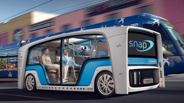 Rinspeed Snap 2018 : Technologies électriques modulaires