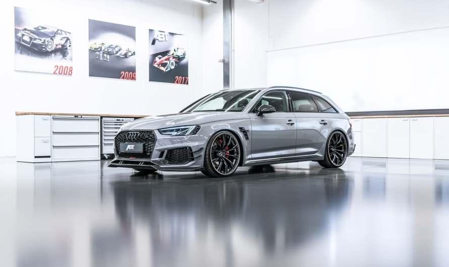 Audi ABT RS4-R 2018 – Elle sera construite a seulement 50 exemplaires