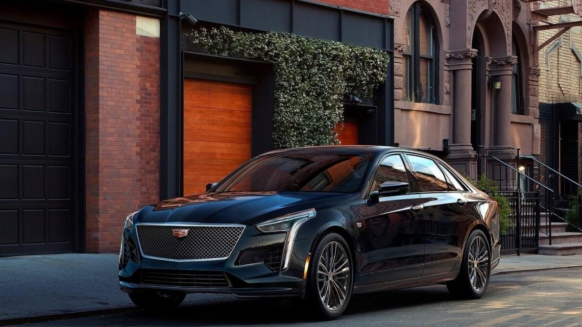 Cadillac CT6 V-Sport 2019 – Moteur V8 de 4,2 l à deux turbocompresseurs