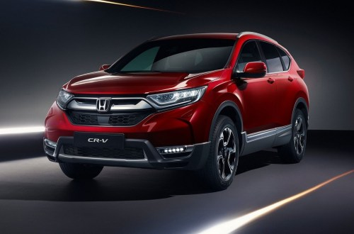 Honda CR-V EU Version 2019